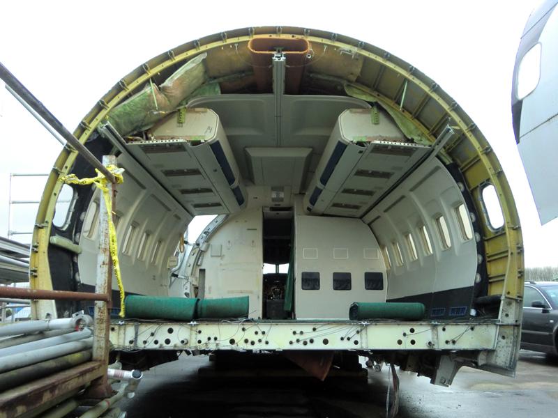 Boeing 737 cabin trainer