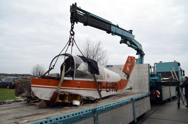 Robin DR-400 Unfall Klix