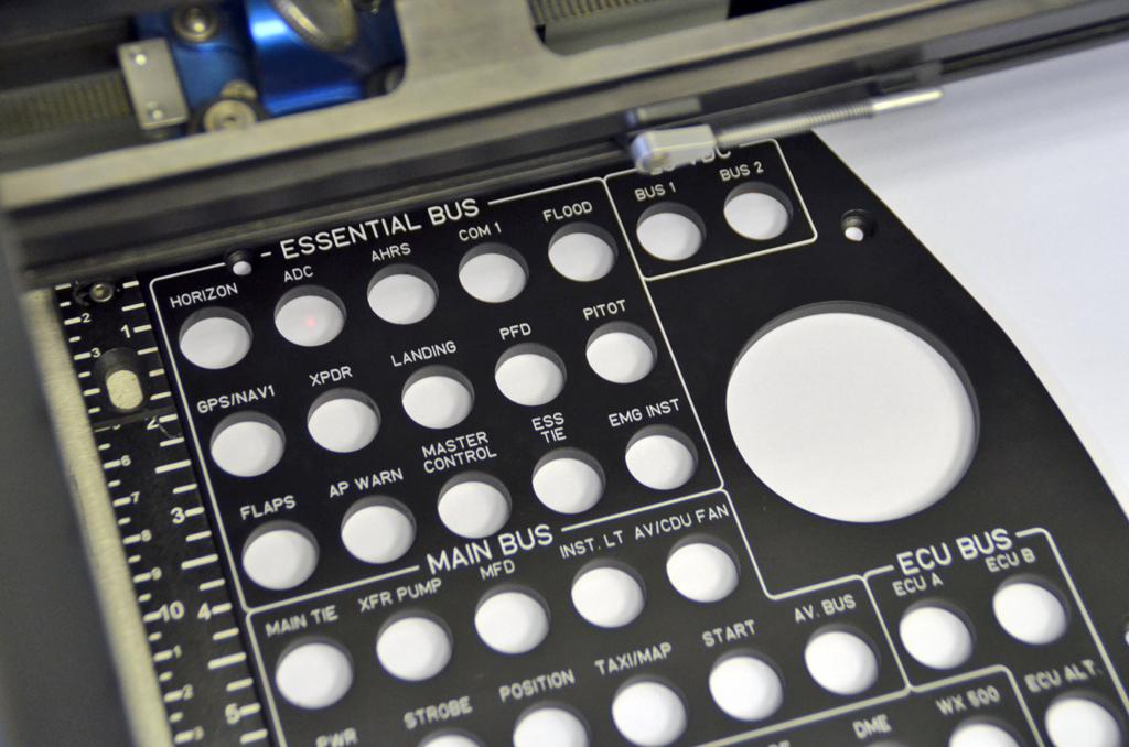 Frontplatten - Laserbeschriftung