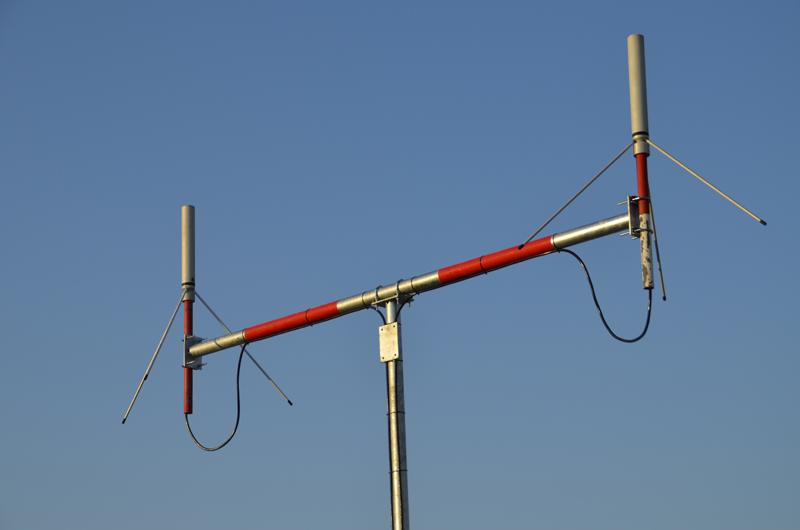 Mast für Flugfunkantennen