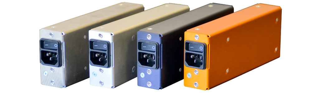 2HE power supply color options