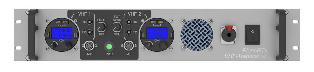 air band transceiver VHF/AM